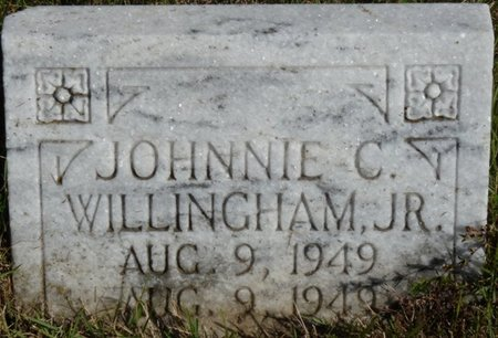 WILLINGHAM JR., JOHNNIE C - Colbert County, Alabama | JOHNNIE C WILLINGHAM JR. - Alabama Gravestone Photos