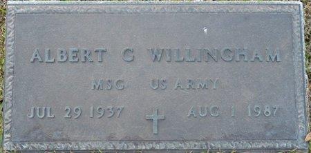 WILLINGHAM (VETERAN), ALBERT GLENN - Colbert County, Alabama | ALBERT GLENN WILLINGHAM (VETERAN) - Alabama Gravestone Photos