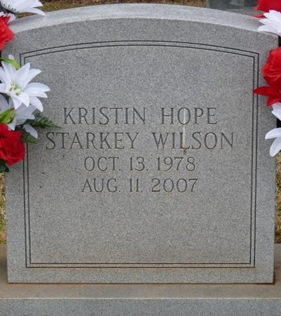 WILSON, KRISTIN HOPE - Colbert County, Alabama | KRISTIN HOPE WILSON - Alabama Gravestone Photos