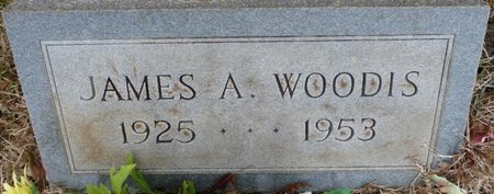 WOODIS, JAMES A - Colbert County, Alabama | JAMES A WOODIS - Alabama Gravestone Photos