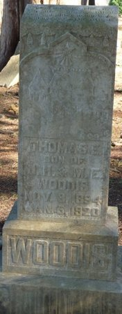 WOODIS, THOMAS E - Colbert County, Alabama | THOMAS E WOODIS - Alabama Gravestone Photos