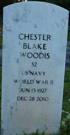 WOODIS (VETERAN WWII), CHESTER BLAKE - Colbert County, Alabama | CHESTER BLAKE WOODIS (VETERAN WWII) - Alabama Gravestone Photos