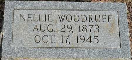 WOODRUFF, NELLIE - Colbert County, Alabama   NELLIE WOODRUFF - Alabama Gravestone Photos