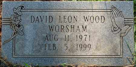 WORSHAM, DAVID LEON WOOD - Colbert County, Alabama | DAVID LEON WOOD WORSHAM - Alabama Gravestone Photos