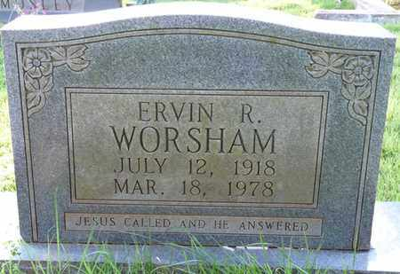 WORSHAM, ERVIN R - Colbert County, Alabama | ERVIN R WORSHAM - Alabama Gravestone Photos