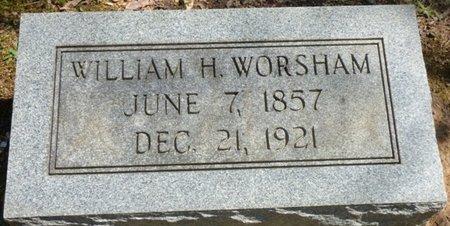 WORSHAM, WILLIAM H - Colbert County, Alabama | WILLIAM H WORSHAM - Alabama Gravestone Photos