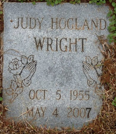 WRIGHT, JUDY - Colbert County, Alabama | JUDY WRIGHT - Alabama Gravestone Photos