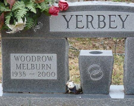 YERBEY, WOODROW MELBURN - Colbert County, Alabama | WOODROW MELBURN YERBEY - Alabama Gravestone Photos