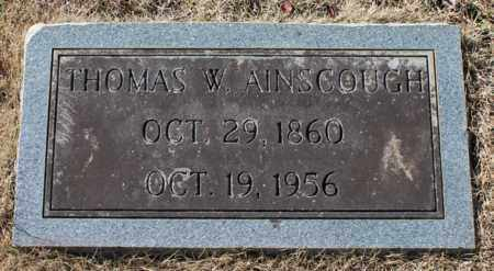AINSCOUGH, THOMAS W - Cullman County, Alabama | THOMAS W AINSCOUGH - Alabama Gravestone Photos