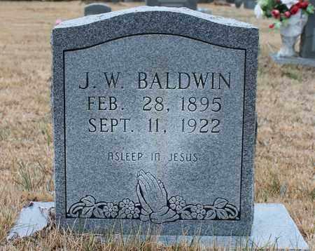 BALDWIN, J W - Etowah County, Alabama | J W BALDWIN - Alabama Gravestone Photos
