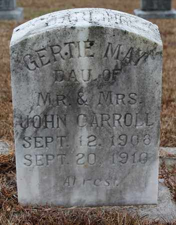 CARROLL, GERTIE MAY - Etowah County, Alabama | GERTIE MAY CARROLL - Alabama Gravestone Photos