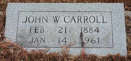 CARROLL, JOHN W - Etowah County, Alabama | JOHN W CARROLL - Alabama Gravestone Photos
