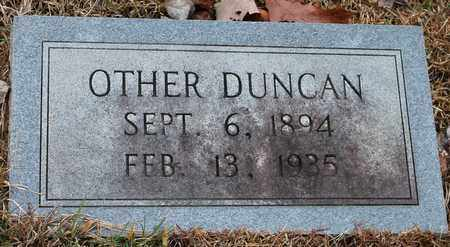 DUNCAN, OTHER - Etowah County, Alabama   OTHER DUNCAN - Alabama Gravestone Photos