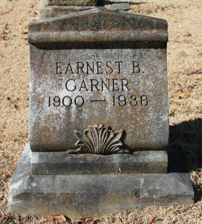GARNER, EARNEST B - Etowah County, Alabama   EARNEST B GARNER - Alabama Gravestone Photos