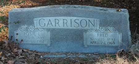 GARRISON, FRED - Etowah County, Alabama | FRED GARRISON - Alabama Gravestone Photos