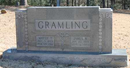 GRAMLING, MATTIE T - Etowah County, Alabama | MATTIE T GRAMLING - Alabama Gravestone Photos