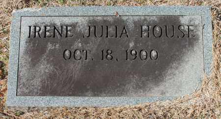 HOUSE, IRENE JULIA - Etowah County, Alabama | IRENE JULIA HOUSE - Alabama Gravestone Photos