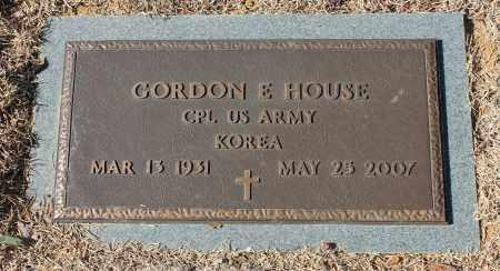 HOUSE (VETERAN KOR), GORDON E - Etowah County, Alabama | GORDON E HOUSE (VETERAN KOR) - Alabama Gravestone Photos