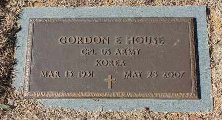 HOUSE (VETERAN KOR), GORDON E - Etowah County, Alabama | GORDON E HOUSE (VETERAN KOR) - Alabama Gravestone Photos