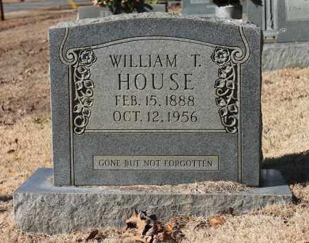 HOUSE, WILLIAM T - Etowah County, Alabama | WILLIAM T HOUSE - Alabama Gravestone Photos