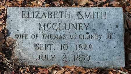 SMITH MCCLUNEY, ELIZABETH - Etowah County, Alabama   ELIZABETH SMITH MCCLUNEY - Alabama Gravestone Photos