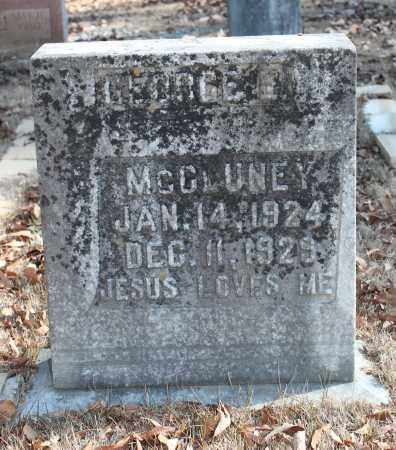 MCCLUNEY, GEORGE E - Etowah County, Alabama | GEORGE E MCCLUNEY - Alabama Gravestone Photos