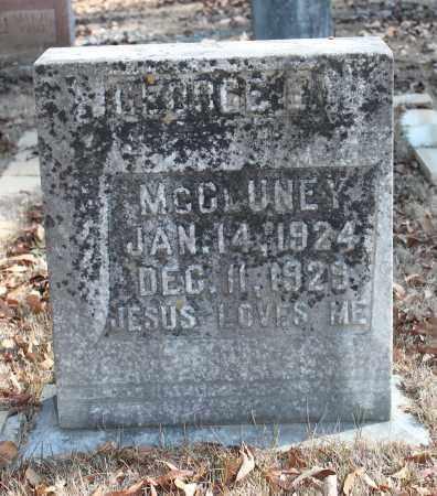 MCCLUNEY, GEORGE E - Etowah County, Alabama | GEORGE E MCCLUNEY - Alabama Gravestone Photos