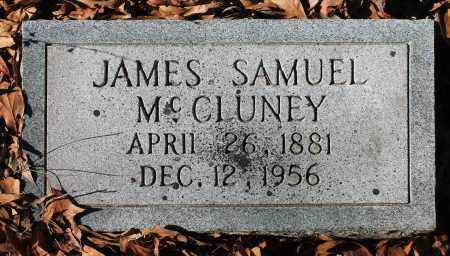 MCCLUNEY, JAMES SAMUEL - Etowah County, Alabama   JAMES SAMUEL MCCLUNEY - Alabama Gravestone Photos