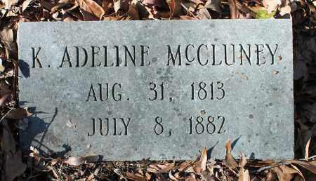 MCCLUNEY, K ADELINE - Etowah County, Alabama   K ADELINE MCCLUNEY - Alabama Gravestone Photos