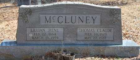 MCCLUNEY, LILLIAN IRENE - Etowah County, Alabama | LILLIAN IRENE MCCLUNEY - Alabama Gravestone Photos
