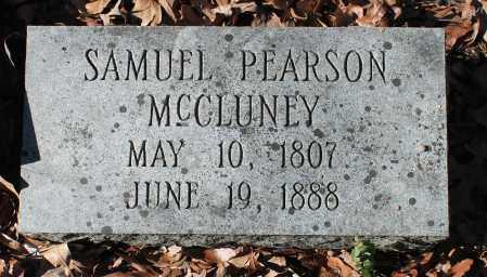 MCCLUNEY, SAMUEL PEARSON - Etowah County, Alabama | SAMUEL PEARSON MCCLUNEY - Alabama Gravestone Photos
