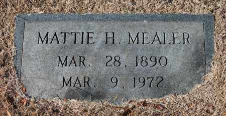MEALER, MATTIE H - Etowah County, Alabama | MATTIE H MEALER - Alabama Gravestone Photos