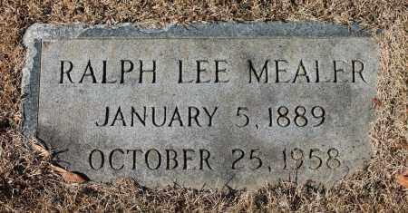 MEALER, RALPH LEE - Etowah County, Alabama | RALPH LEE MEALER - Alabama Gravestone Photos