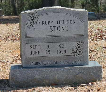 TILLISON STONE, RUBY - Etowah County, Alabama | RUBY TILLISON STONE - Alabama Gravestone Photos
