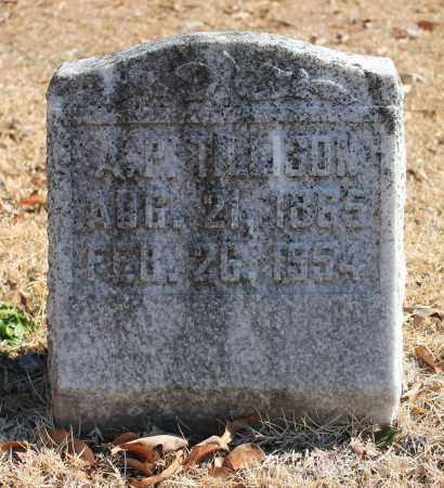 TILLISON, A P - Etowah County, Alabama | A P TILLISON - Alabama Gravestone Photos