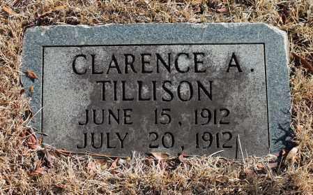 TILLISON, CLARENCE A - Etowah County, Alabama   CLARENCE A TILLISON - Alabama Gravestone Photos