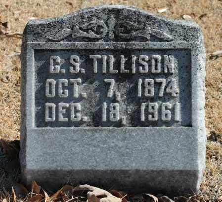 TILLISON, C S - Etowah County, Alabama | C S TILLISON - Alabama Gravestone Photos