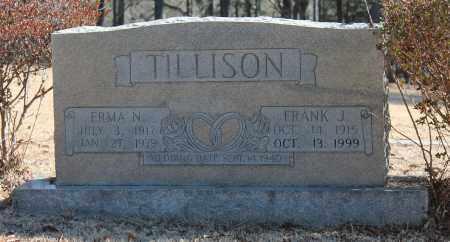 TILLISON, ERMA N - Etowah County, Alabama | ERMA N TILLISON - Alabama Gravestone Photos