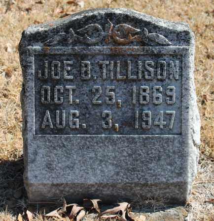 TILLISON, JOE B - Etowah County, Alabama | JOE B TILLISON - Alabama Gravestone Photos