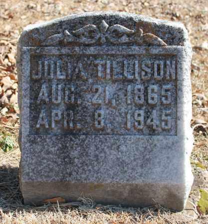 TILLISON, JULIA - Etowah County, Alabama | JULIA TILLISON - Alabama Gravestone Photos