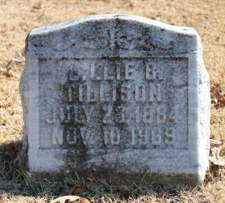 TILLISON, LILLIE B - Etowah County, Alabama | LILLIE B TILLISON - Alabama Gravestone Photos