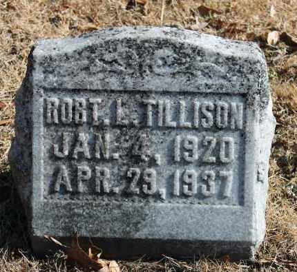 TILLISON, ROBERT L - Etowah County, Alabama | ROBERT L TILLISON - Alabama Gravestone Photos