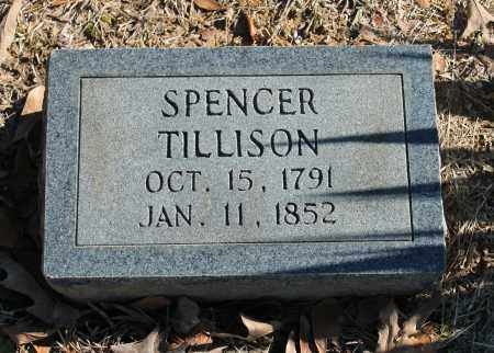 TILLISON, SPENCER - Etowah County, Alabama | SPENCER TILLISON - Alabama Gravestone Photos