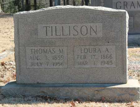 TILLISON, LOURA A - Etowah County, Alabama | LOURA A TILLISON - Alabama Gravestone Photos