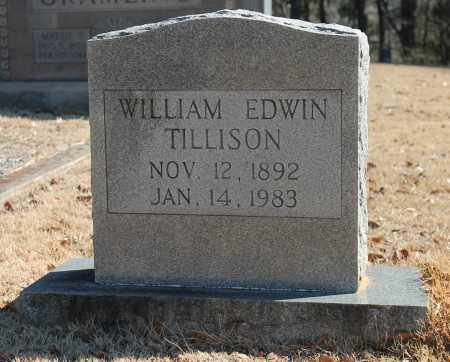 TILLISON, WILLIAM EDWIN - Etowah County, Alabama   WILLIAM EDWIN TILLISON - Alabama Gravestone Photos