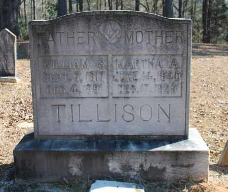TILLISON, WILLIAM S - Etowah County, Alabama | WILLIAM S TILLISON - Alabama Gravestone Photos
