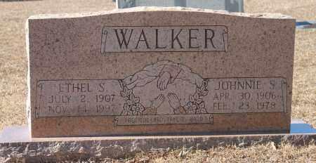 WALKER, ETHEL S - Etowah County, Alabama | ETHEL S WALKER - Alabama Gravestone Photos