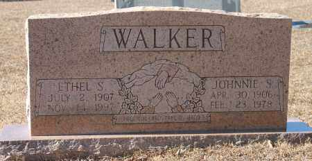 WALKER, JOHNNIE S - Etowah County, Alabama | JOHNNIE S WALKER - Alabama Gravestone Photos