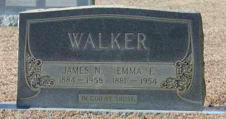 WALKER, EMMA F - Etowah County, Alabama | EMMA F WALKER - Alabama Gravestone Photos