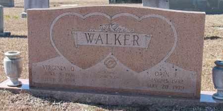 WALKER, ORIN E - Etowah County, Alabama | ORIN E WALKER - Alabama Gravestone Photos